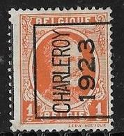 Charleroy 1923 Typo Nr. 73A - Sobreimpresos 1922-31 (Houyoux)