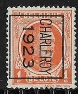 Charleroy 1923 Typo Nr. 73B - Sobreimpresos 1922-31 (Houyoux)