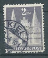 Zone Anglo-américaine YT N°66 Type II Holstentor Lübeck Oblitéré ° - Bizone