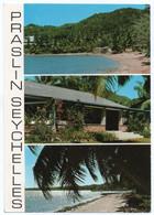 SEYCHELLES - PRASLIN / THEMATIC STAMP-RARE BIRDS (SEYCHELLES MAGPIE ROBIN) - Seychellen