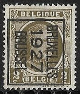 Brussel 1927 Typo Nr. 148B - Sobreimpresos 1922-31 (Houyoux)