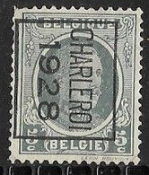 Charleroy 1928 Typo Nr. 173B - Sobreimpresos 1922-31 (Houyoux)
