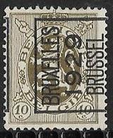 Brussel 1929 Typo Nr. 216A - Sobreimpresos 1929-37 (Leon Heraldico)