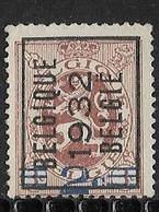 België 1932 Typo Nr. 253A - Sobreimpresos 1929-37 (Leon Heraldico)