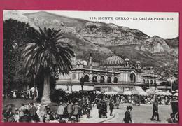 CPA 1929 TBE Rare 218 RM LE CAFE DE PARIS La Place Les Collines Animée 852 Hotel Casino SDBM A124 - Bars & Restaurants