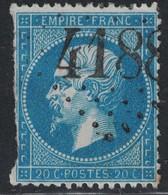 EMPIRE - N°22 - DEFECTUEUX - OBLITERATION - GC4188 - VIC-S-SEILLE - MEURTHE. - 1849-1876: Periodo Classico