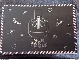 MON PARIS  YSL - Parfumkaarten