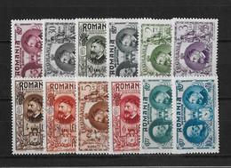Roumanie Yv? 324 - 335 Neufs Et Oblit. - 1918-1948 Ferdinand, Charles II & Michael