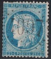 CERES - N°60 - OBLITERATION - GC4097 - VANVES - SEINE & PARIS - COTE 12€. - 1849-1876: Klassik
