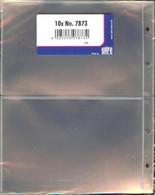 I.D./SAFE - FEUILLES COMPACT TRANSPARENTS à 2 Poches (REF.7873) - Materiali