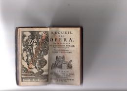 Recueil D'opéras Dans Petit Livre De 1726. Voir Les Titres Sous Les Images. Très Bon état. - 1701-1800