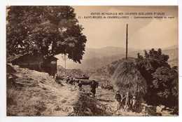 - CPA ARLES (13) - OEUVRE MUNICIPALE DES COLONIES SCOLAIRES - SAINT-MICHEL De CHABRILLANOUX - Cantonnements - - Arles
