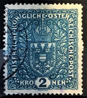 AUSTRIA 1917 - Canceled - ANK 204x II - 2K - Used Stamps