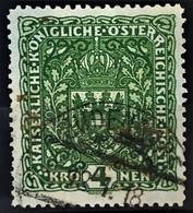 AUSTRIA 1917 - Canceled - ANK 206x II - 4K - Used Stamps