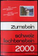 LI0024 - CATALOGUE DE TIMBRES - SUISSE ET LIECHTENSTEIN - ZUMSTEIN 2000 - Suiza