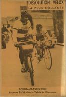 N°2166 RRR DID4 PUBLICITE VELOX CYCLISME BORDEAUX PARIS 1948 BUYL DANS LA VALLEE DE CHEVREUSE - Radsport