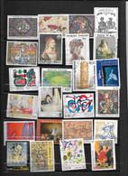 FRANCE   OEUVRES D'ART TIMBRES  OBLITERES - Sammlungen