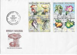 Madagascar 1994 FDC - Orchideeën