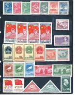 Chine -lot De 145 Timbre , Entre 820 Et 1089 - Unclassified
