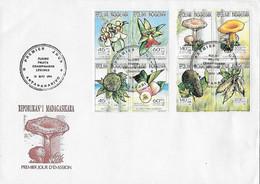 FDC Madagascar 1994 - Orchideeën