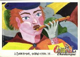 CPSM Grand Format CARNAVAL De DUNKERQUE  2003 N°8 Recto Verso - Dunkerque