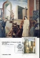 59687 Italia, Maximum 1987,  Painting Of Mario Sironi,  Architecture - Impressionisme