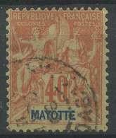 Mayotte (1892) N 10 (o) - Gebraucht