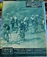 Rare Revue Miroir-sprint 13 Juillet 1949 - Sport
