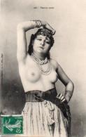 V10Ve   Algérie Femme Arabe Seins Nus Coiffe Collier De Perles - Mujeres