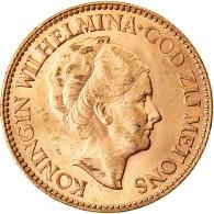 Monnaie, Pays-Bas, Wilhelmina I, 10 Gulden, 1932, Utrecht, SUP+, Or, KM:162 - 10 Gulden