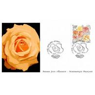 FDC LNF - Congrès Mondial Des Sociétés De Roses (4958), Oblit 29/5/2015 Lyon - 2010-....
