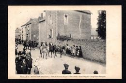 Ruillé Le Gravelais - ( 53. Mayenne) Fête De Jeanne-D'Arc - 8 Juin 1913 - Seigneurs Français ( Chevaux, Costumes) - Other Municipalities