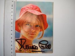 Autographe De France Gall - Autogramme & Autographen