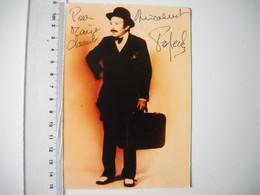 Autographe De Popeck .  2 Scans - Autogramme & Autographen