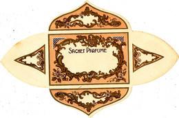 A/  ETIQUETTE -PARFUM  SAVON -  SACHET PARFUME - Oud (tot 1960)