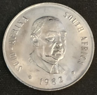 Pas Courant - AFRIQUE DU SUD - 20 CENTS 1982 - Balthazar J. Vorster - KM 113 - ( South Africa ) - Sud Africa