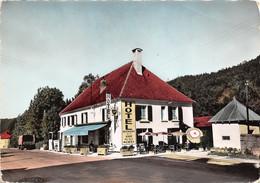 MONESTIER DE CLERMONT Hotel Restaurant De La Gare Telephone Sur La Route D Hiver Des Alpes 6(scan Recto-verso) MA376 - Sonstige Gemeinden