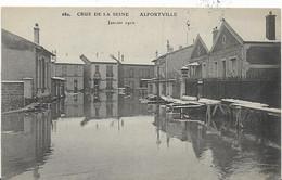 ~  JP  ~  94  ~   CRUE De  La   SEINE   ~   ALFORTVILLE  .  Janvier 1910 - Alfortville