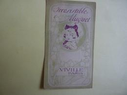 PUBLICITE IRRESITIBLE MUGUET  VIVILLE PARIS    (2020 Octobre 11) - Parfumkaarten