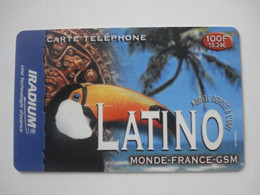 Carte Prépayée Française IRADIUM ( Utilisée ). - Frankreich