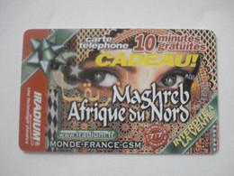 Carte Prépayée Française IRADIUM ( Utilisée ). 10 Minutes Gratuites - RARE. - Frankreich