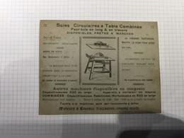 20BG - Carte Postale Atelier Gillet Libramont Autos Camions Bel Affranchissement 3c Albert 1er 1924 - Publicités