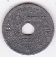 PROTECTORAT FRANCAIS. 10 CENTIMES 1941 En Zinc - Tunisie