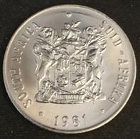 AFRIQUE DU SUD - 50 CENTS 1981 - SOUTH AFRICA - SUID AFRIKA - KM 87 - ( South Africa ) - Sud Africa