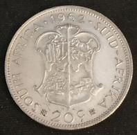 Pas Courant - AFRIQUE DU SUD - 20 CENTS 1962 - Van Riebeeck - Argent - Silver - KM 61 - ( South Africa ) - Sud Africa