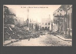 Visé - Rue Du Perron Et Hôtel-de-Ville - War / Guerre 14-18 - 8 X 13,5 Cm - Visé