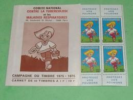 TC29 / ANTITUBERCULEUX  : Carnet De 1975/1976 Neuf ** MNH - Tegen Tuberculose