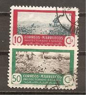 Marruecos Español - Edifil 331-32 - Yvert 408-09 (usado) (o) - Marruecos Español