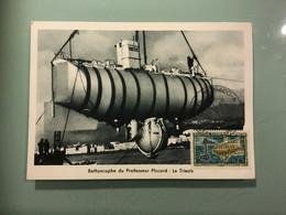 Bathyscaphe Du Pofesseur Piccard : Le Trieste - Submarines