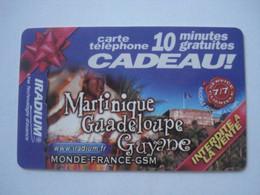 Carte Prépayée Française IRADIUM ( Neuve Non Gratter ). 10 Minutes Gratuites - RARE. - Frankreich